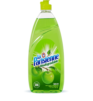 Regular dishwashing liquid – green apple